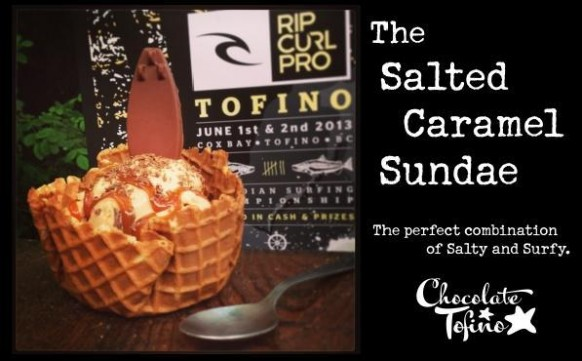 Salted Caramel Sundae: The Perfect Combination of Salty and Surfy