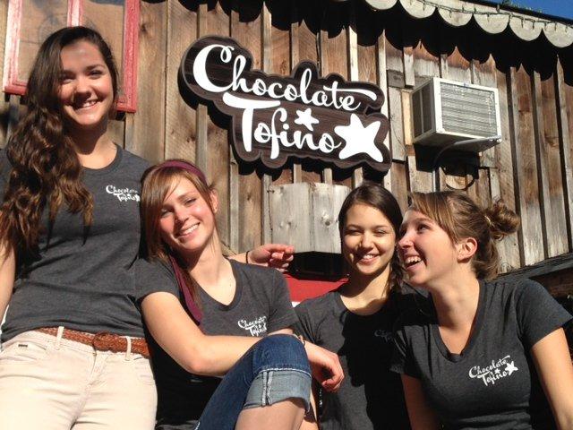 Chocolate Tofino Girls
