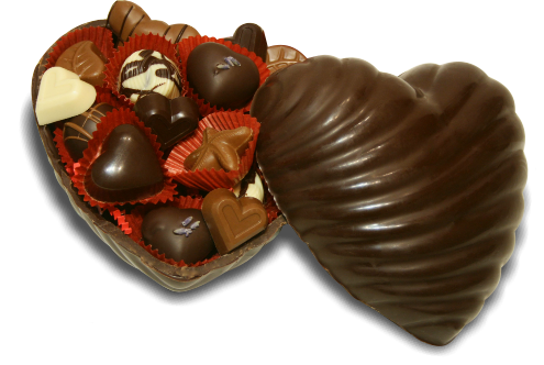 Chocolate Lover's Heart